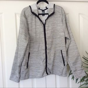 Champion C9 XL Gray Athletic Hoodie Jacket Coat